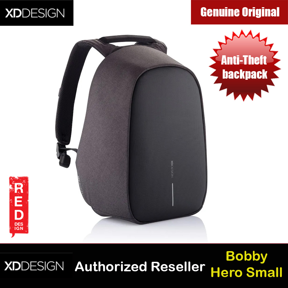 Picture of XD Design Bobby Hero Small Anti-Theft backpack (Black) Red Design- Red Design Cases, Red Design Covers, iPad Cases and a wide selection of Red Design Accessories in Malaysia, Sabah, Sarawak and Singapore