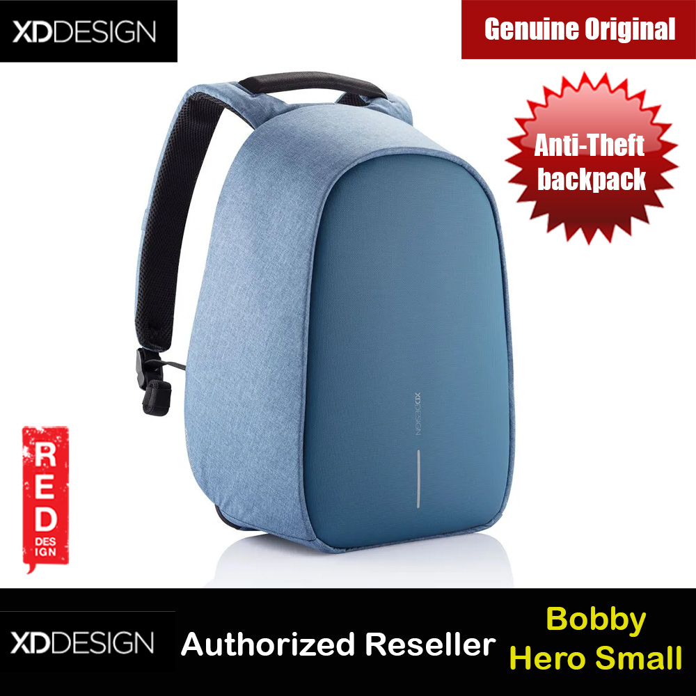 Picture of XD Design Bobby Hero Small Anti-Theft backpack (Blue) Red Design- Red Design Cases, Red Design Covers, iPad Cases and a wide selection of Red Design Accessories in Malaysia, Sabah, Sarawak and Singapore