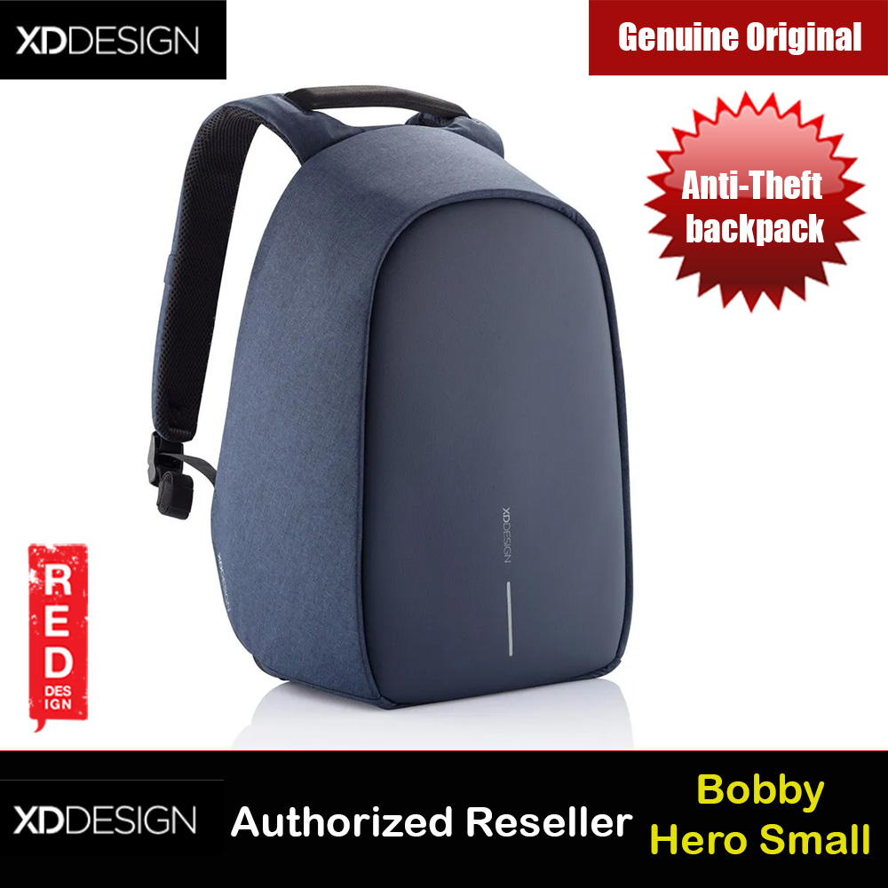 Picture of XD Design Bobby Hero Small Anti-Theft backpack (Navy) Red Design- Red Design Cases, Red Design Covers, iPad Cases and a wide selection of Red Design Accessories in Malaysia, Sabah, Sarawak and Singapore