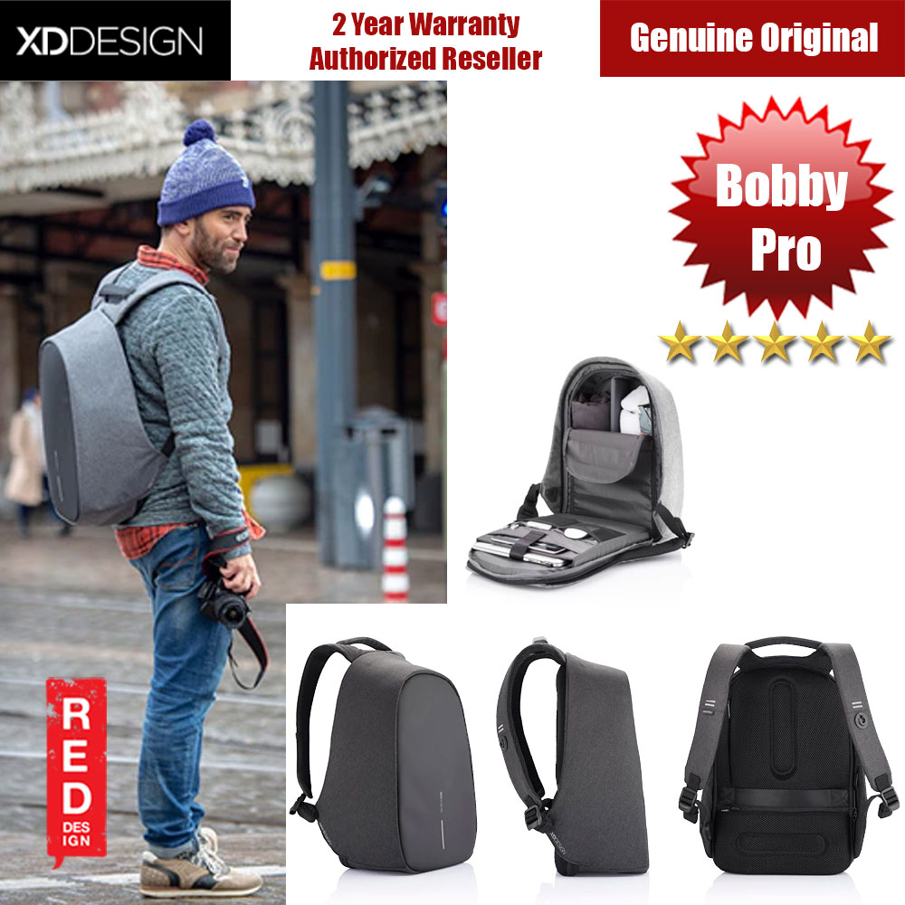 Picture of XD Design Bobby Pro Anti Theft Backpack (Black) Red Design- Red Design Cases, Red Design Covers, iPad Cases and a wide selection of Red Design Accessories in Malaysia, Sabah, Sarawak and Singapore