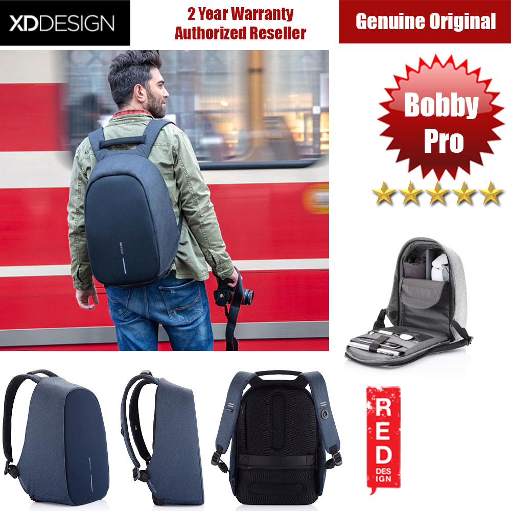 Picture of XD Design Bobby Pro Anti Theft Backpack (Blue) Red Design- Red Design Cases, Red Design Covers, iPad Cases and a wide selection of Red Design Accessories in Malaysia, Sabah, Sarawak and Singapore