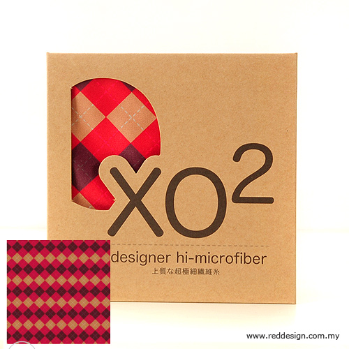 Picture of XO2 Design Hi-Microfiber for iPad Camera Laptop Eye Glasses Handkerchief - Classic Check Red Red Design- Red Design Cases, Red Design Covers, iPad Cases and a wide selection of Red Design Accessories in Malaysia, Sabah, Sarawak and Singapore