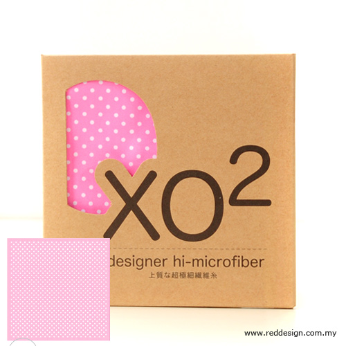 Picture of XO2 Design Hi-Microfiber for iPad Camera Laptop Eye Glasses Handkerchief - Firty Polka Dot Pink Red Design- Red Design Cases, Red Design Covers, iPad Cases and a wide selection of Red Design Accessories in Malaysia, Sabah, Sarawak and Singapore