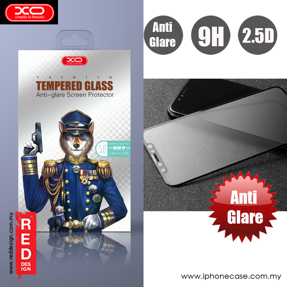 Picture of XO Anti Glare Tempered Glass for Apple iPhone XS iPhone X (Anti Glare) Apple iPhone X- Apple iPhone X Cases, Apple iPhone X Covers, iPad Cases and a wide selection of Apple iPhone X Accessories in Malaysia, Sabah, Sarawak and Singapore