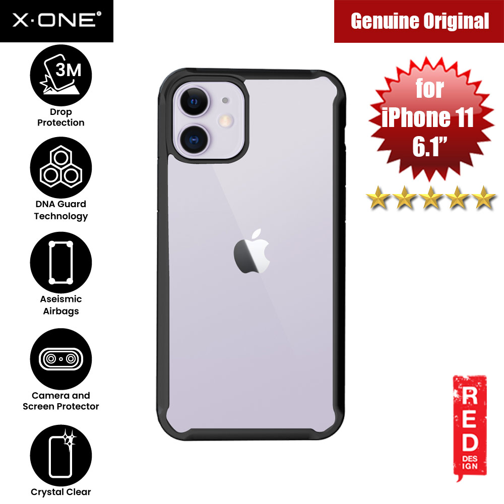 Picture of X-One X.One Drop Guard 2.0+ Impact Protection Case for Apple iPhone 11 6.1 Upgraded Version ( Black) Apple iPhone 11 6.1- Apple iPhone 11 6.1 Cases, Apple iPhone 11 6.1 Covers, iPad Cases and a wide selection of Apple iPhone 11 6.1 Accessories in Malaysia, Sabah, Sarawak and Singapore