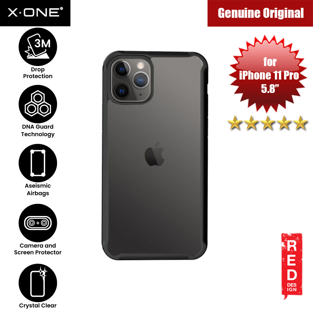 Picture of X-One X.One Drop Guard 2.0+ Impact Protection Case for Apple iPhone 11 Pro 5.8 Upgraded Version ( Black) Apple iPhone 11 Pro 5.8- Apple iPhone 11 Pro 5.8 Cases, Apple iPhone 11 Pro 5.8 Covers, iPad Cases and a wide selection of Apple iPhone 11 Pro 5.8 Accessories in Malaysia, Sabah, Sarawak and Singapore