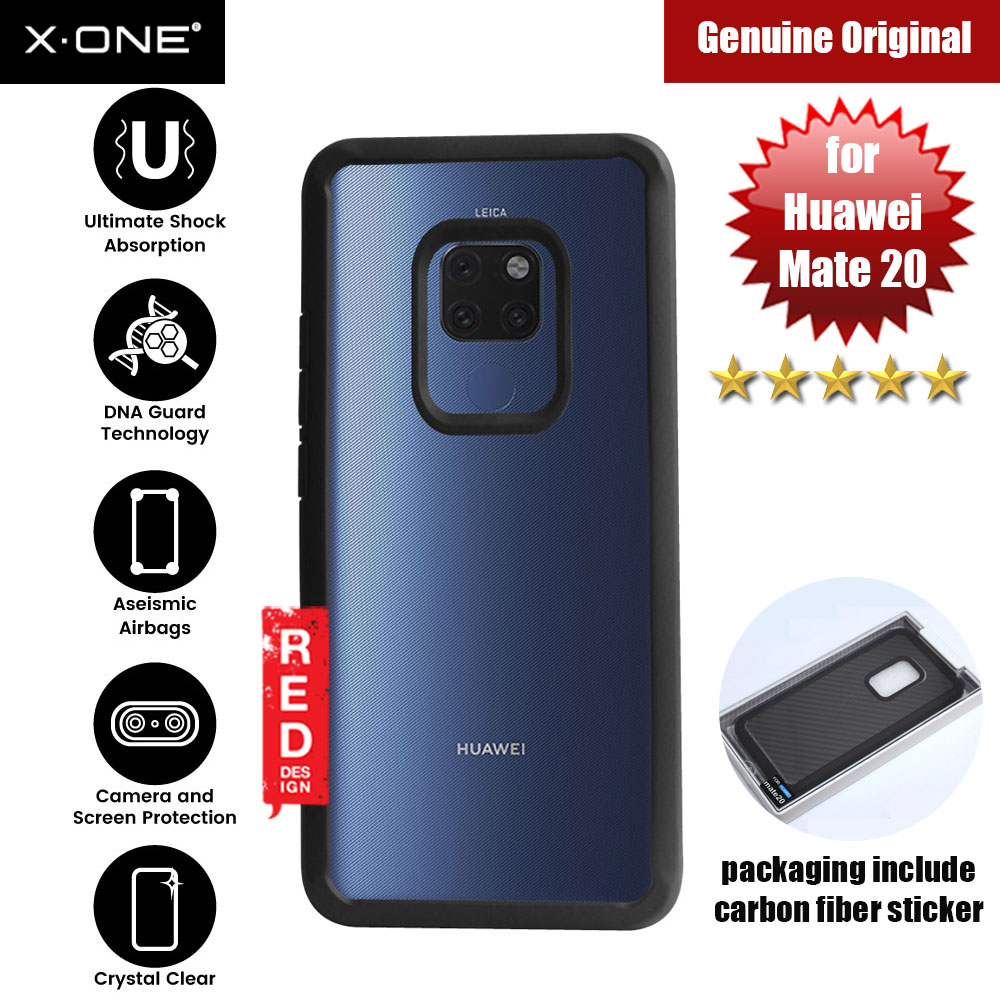 Picture of X.One DropGuard 2.0+ & 2.0 for Huawei Mate 20 (Black) Huawei Mate 20- Huawei Mate 20 Cases, Huawei Mate 20 Covers, iPad Cases and a wide selection of Huawei Mate 20 Accessories in Malaysia, Sabah, Sarawak and Singapore