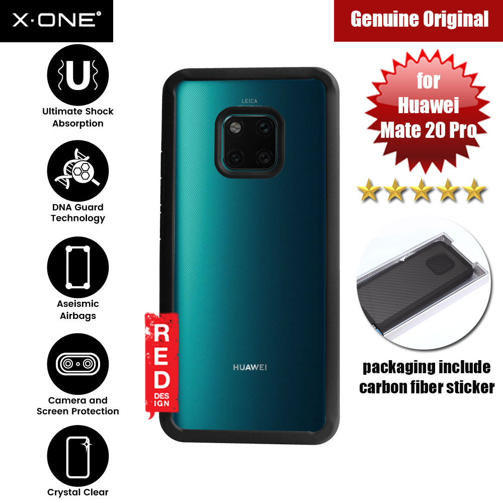 Picture of X.One DropGuard 2.0+ & 2.0 for Huawei Mate 20 Pro (Black) Huawei Mate 20 Pro- Huawei Mate 20 Pro Cases, Huawei Mate 20 Pro Covers, iPad Cases and a wide selection of Huawei Mate 20 Pro Accessories in Malaysia, Sabah, Sarawak and Singapore