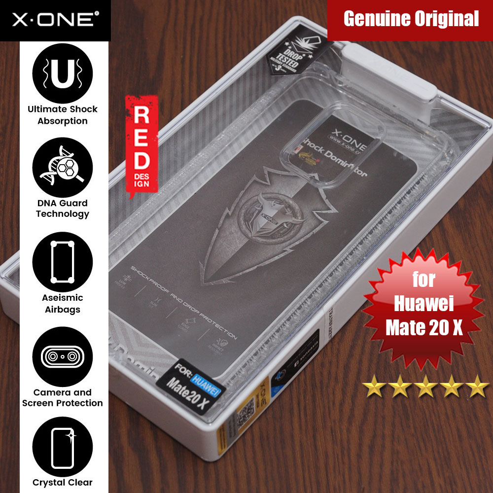 Picture of X.One DropGuard Pro for Huawei Mate 20X (Clear) Huawei Mate 20X- Huawei Mate 20X Cases, Huawei Mate 20X Covers, iPad Cases and a wide selection of Huawei Mate 20X Accessories in Malaysia, Sabah, Sarawak and Singapore