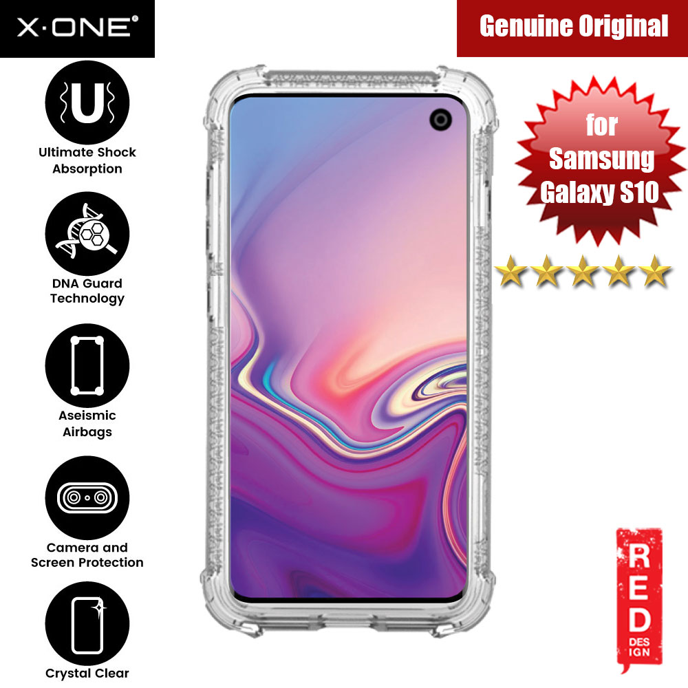 Picture of X.One DropGuard Pro for Samsung Galaxy S10 (Clear) Samsung Galaxy S10- Samsung Galaxy S10 Cases, Samsung Galaxy S10 Covers, iPad Cases and a wide selection of Samsung Galaxy S10 Accessories in Malaysia, Sabah, Sarawak and Singapore