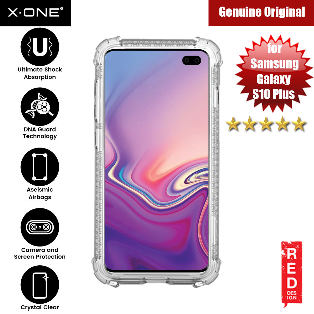 Picture of X.One DropGuard Pro for Samsung Galaxy S10 Plus (Clear) Samsung Galaxy S10 Plus- Samsung Galaxy S10 Plus Cases, Samsung Galaxy S10 Plus Covers, iPad Cases and a wide selection of Samsung Galaxy S10 Plus Accessories in Malaysia, Sabah, Sarawak and Singapore