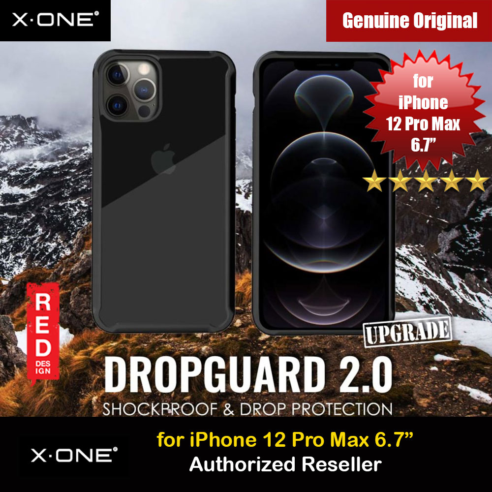 Picture of X.One DropGuard 2.0 Air Cushion Extreme Responsive Button Drop Protection Case for iPhone 12 Pro Max 6.7 (Clear Black) Upgraded  Version Apple iPhone 12 Pro Max 6.7- Apple iPhone 12 Pro Max 6.7 Cases, Apple iPhone 12 Pro Max 6.7 Covers, iPad Cases and a wide selection of Apple iPhone 12 Pro Max 6.7 Accessories in Malaysia, Sabah, Sarawak and Singapore