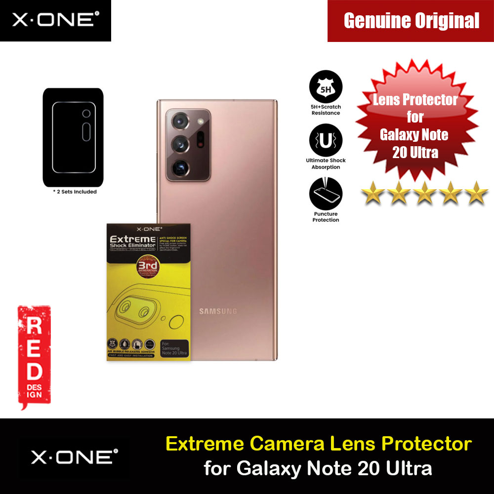 Picture of X.one Extreme Camera Lens Protector for 5H Scratch Resistant Ultra Clear Ultra Thin Lens Protector for Galaxy Note 20 Ultra 6.9 Samsung Galaxy Note 20 Ultra- Samsung Galaxy Note 20 Ultra Cases, Samsung Galaxy Note 20 Ultra Covers, iPad Cases and a wide selection of Samsung Galaxy Note 20 Ultra Accessories in Malaysia, Sabah, Sarawak and Singapore
