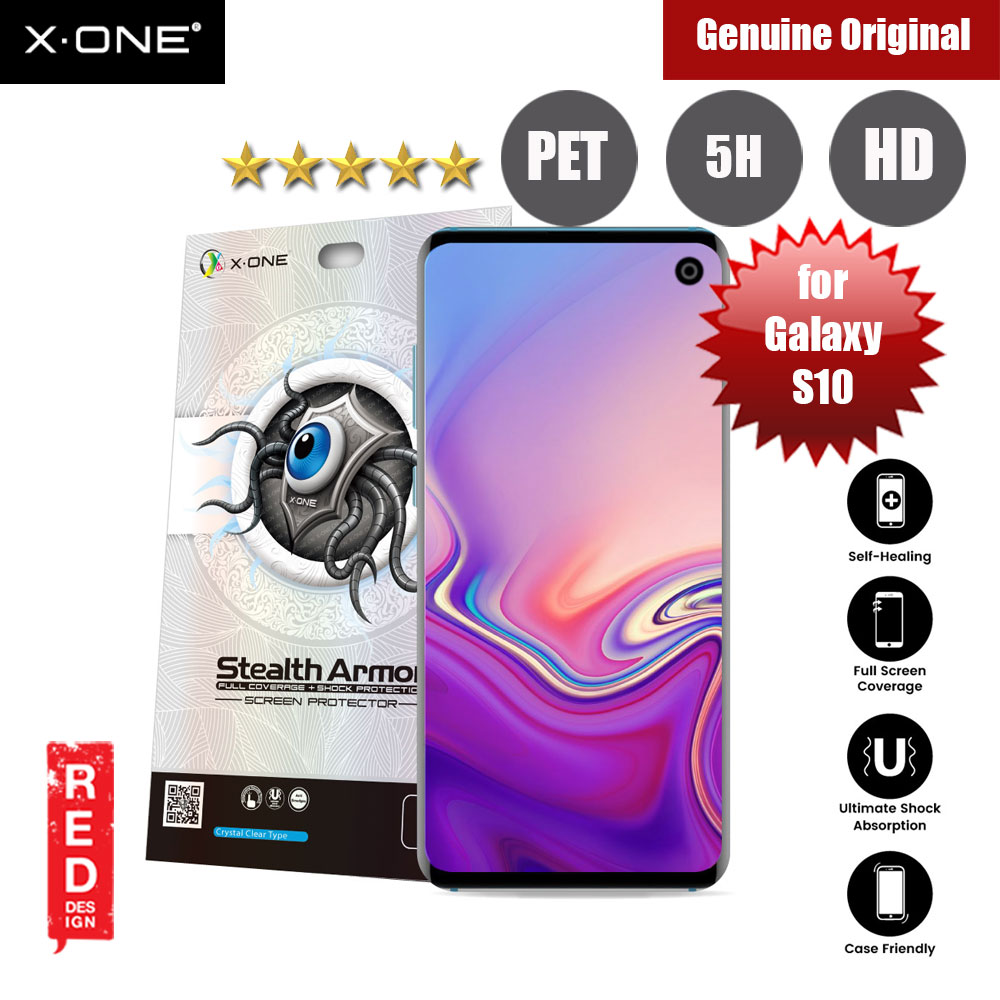 Picture of X.One Stealth Armor Full Screen Coverage PET Screen Protector For Samsung Galaxy S10 Samsung Galaxy S10- Samsung Galaxy S10 Cases, Samsung Galaxy S10 Covers, iPad Cases and a wide selection of Samsung Galaxy S10 Accessories in Malaysia, Sabah, Sarawak and Singapore