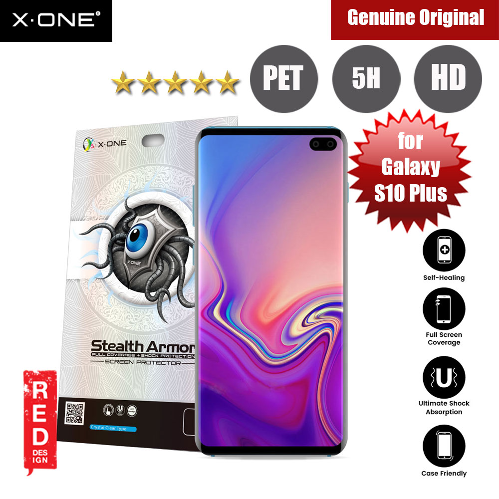 Picture of X.One Stealth Armor Full Screen Coverage PET Screen Protector For Samsung Galaxy S10 Plus Samsung Galaxy S10 Plus- Samsung Galaxy S10 Plus Cases, Samsung Galaxy S10 Plus Covers, iPad Cases and a wide selection of Samsung Galaxy S10 Plus Accessories in Malaysia, Sabah, Sarawak and Singapore