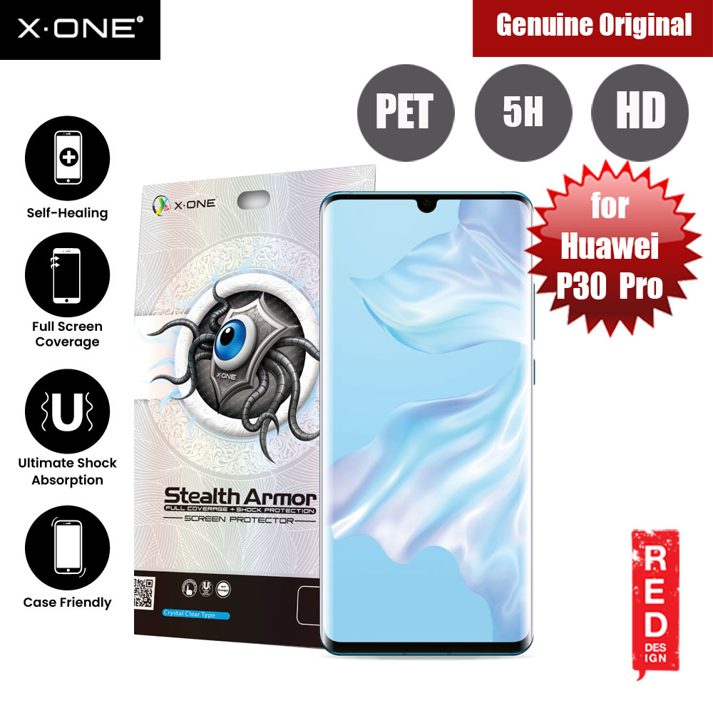 Picture of X.One Stealth Armor Full Screen Coverage PET Screen Protector For Huawei P30 Pro Huawei P30 Pro- Huawei P30 Pro Cases, Huawei P30 Pro Covers, iPad Cases and a wide selection of Huawei P30 Pro Accessories in Malaysia, Sabah, Sarawak and Singapore