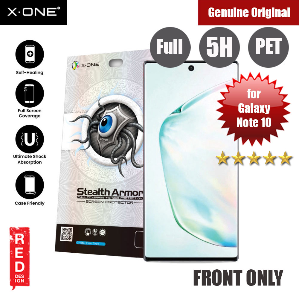 Picture of X.One Stealth Armor 2 Full Screen Coverage PET Screen Protector For Samsung Galaxy Note 10 Samsung Galaxy Note 10- Samsung Galaxy Note 10 Cases, Samsung Galaxy Note 10 Covers, iPad Cases and a wide selection of Samsung Galaxy Note 10 Accessories in Malaysia, Sabah, Sarawak and Singapore
