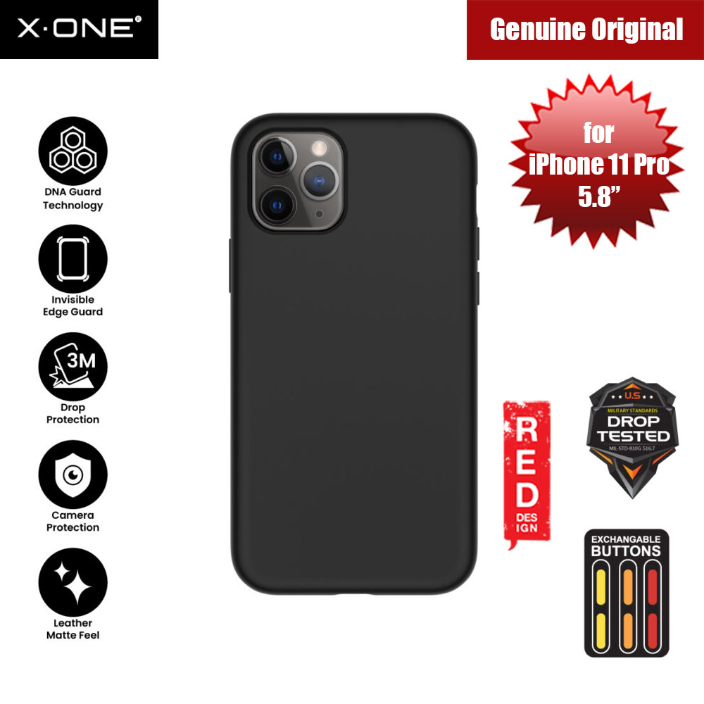 Picture of X.One Shock Dominator Impact Protection Case for Apple iPhone 11 Pro 5.8 (Black) Apple iPhone 11 Pro 5.8- Apple iPhone 11 Pro 5.8 Cases, Apple iPhone 11 Pro 5.8 Covers, iPad Cases and a wide selection of Apple iPhone 11 Pro 5.8 Accessories in Malaysia, Sabah, Sarawak and Singapore