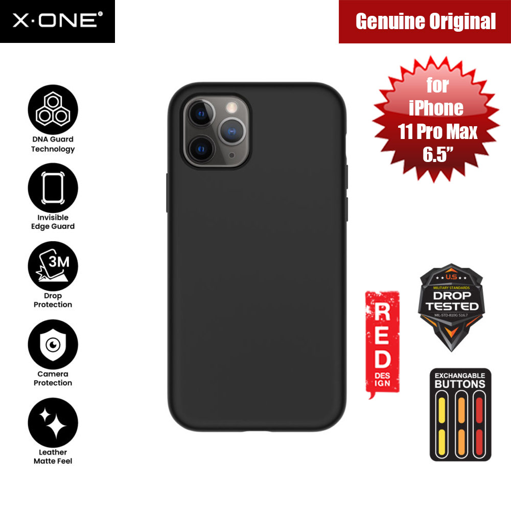 Picture of X.One Shock Dominator Impact Protection Case for Apple iPhone 11 Pro Max 6.5 (Black) Apple iPhone 11 Pro Max 6.5- Apple iPhone 11 Pro Max 6.5 Cases, Apple iPhone 11 Pro Max 6.5 Covers, iPad Cases and a wide selection of Apple iPhone 11 Pro Max 6.5 Accessories in Malaysia, Sabah, Sarawak and Singapore