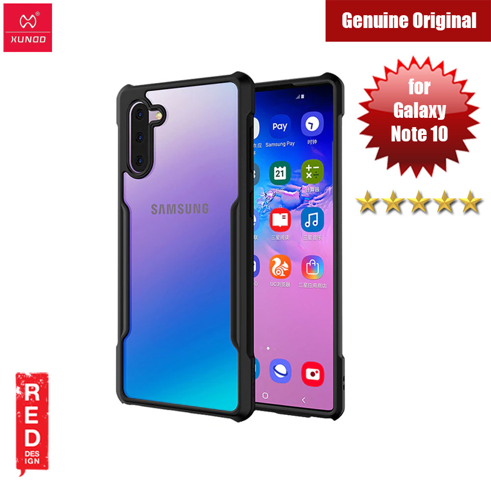 Picture of XUNDD Beetle Series Airbags Shockproof Case for Samsung Galaxy Note 10 (Black) Samsung Galaxy Note 10- Samsung Galaxy Note 10 Cases, Samsung Galaxy Note 10 Covers, iPad Cases and a wide selection of Samsung Galaxy Note 10 Accessories in Malaysia, Sabah, Sarawak and Singapore