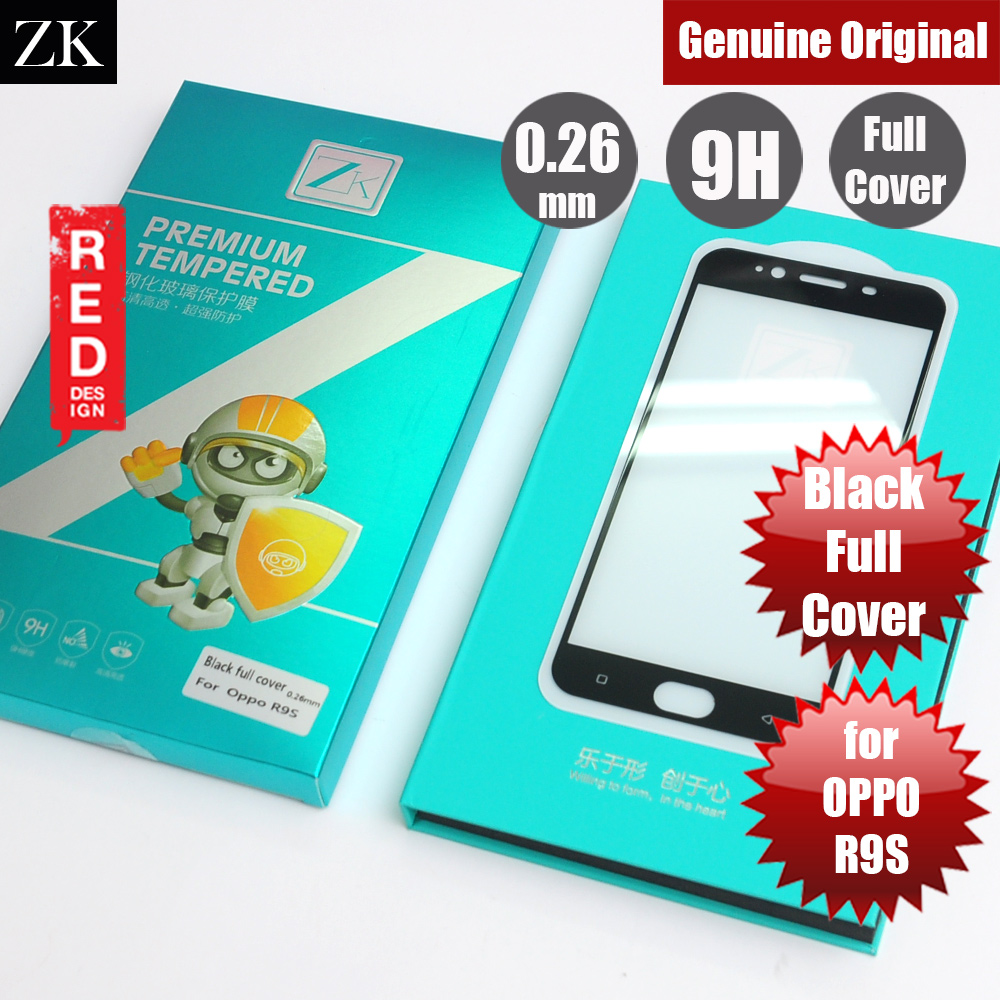 Picture of ZK Full Cover Premium Tempered Glass for OPPO R9S (Black) OPPO R9s- OPPO R9s Cases, OPPO R9s Covers, iPad Cases and a wide selection of OPPO R9s Accessories in Malaysia, Sabah, Sarawak and Singapore