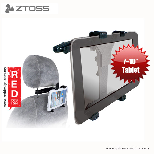 "Picture of ZTOSS GOTRAVEL HOLDER Universal Car Headrest Mount Holder for Tablet PC 7"" to 10"" Red Design- Red Design Cases, Red Design Covers, iPad Cases and a wide selection of Red Design Accessories in Malaysia, Sabah, Sarawak and Singapore"